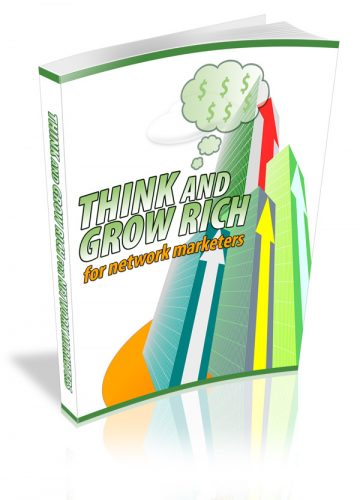 Think And Grow Rich For Network Marketers