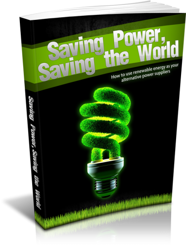 Saving Power Saving The World
